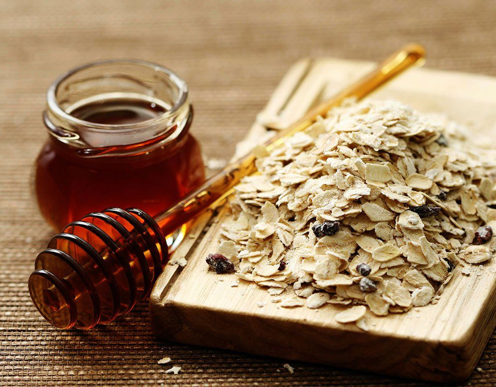 Oatmeal is capable of exfoliating the skin