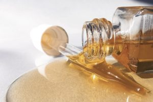 Keep away from oil and alcohol products