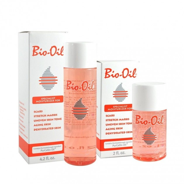 With dry skin, you can also use fast absorbing Bio-oil which are very soothing