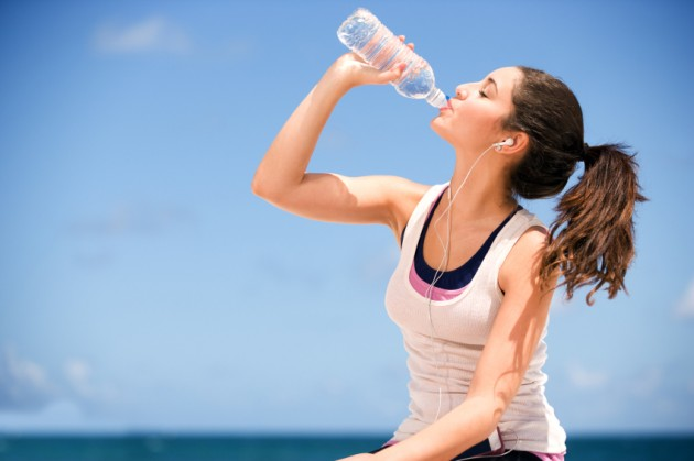 Control injuries by supplementing water both inside and outside
