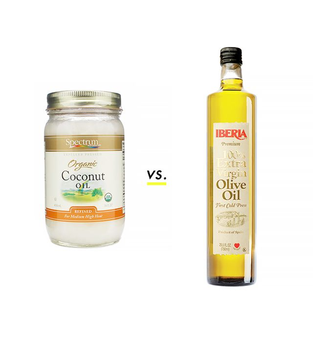 Olive oil and coconut oil moisturize, soothe and whiten skin effectively
